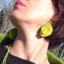 Earrings model Hopi